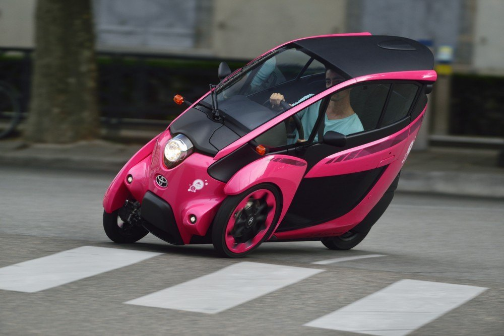 iRoad coches eléctricos