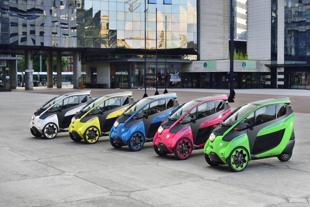gama iRoad coches eléctricos